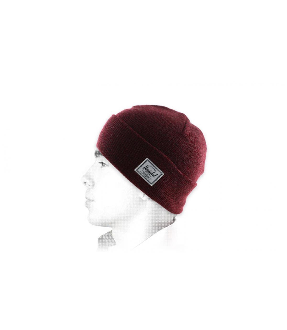 cappello marrone bavero Herschel