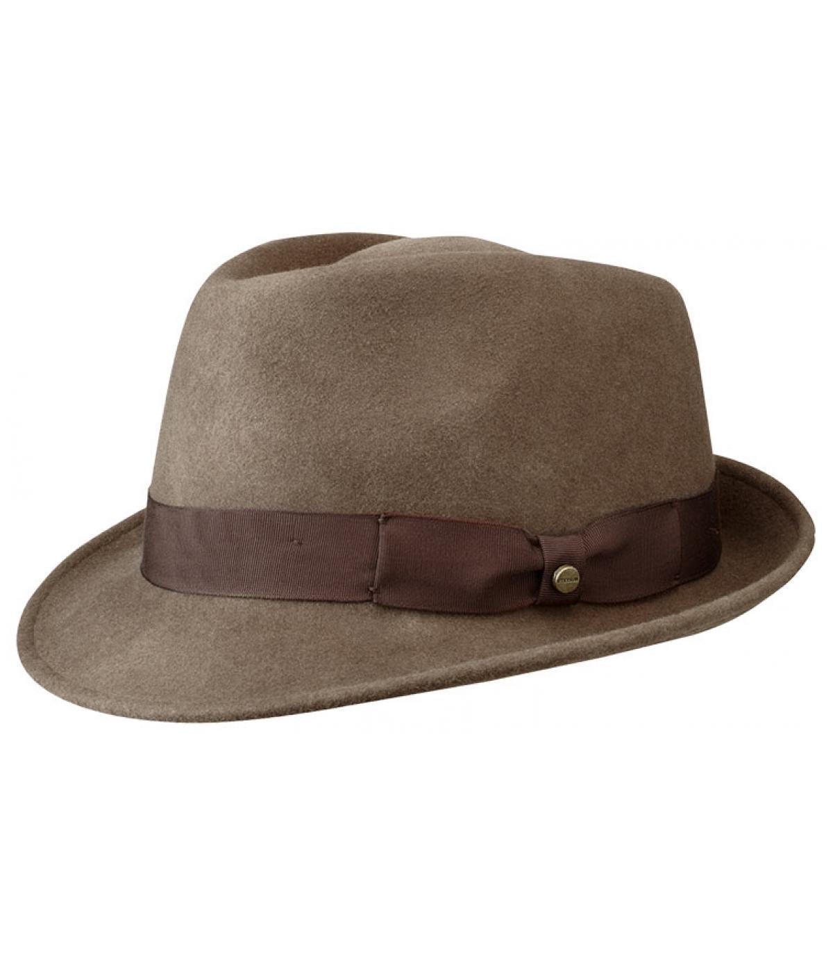 Cappello uomo Stetson marrone