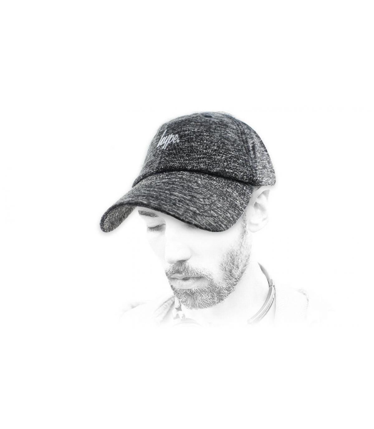 Hype cappello grigio erica