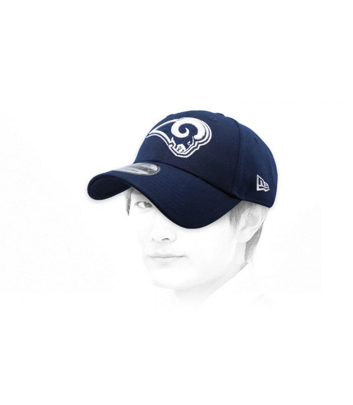 Rams curva cape blu