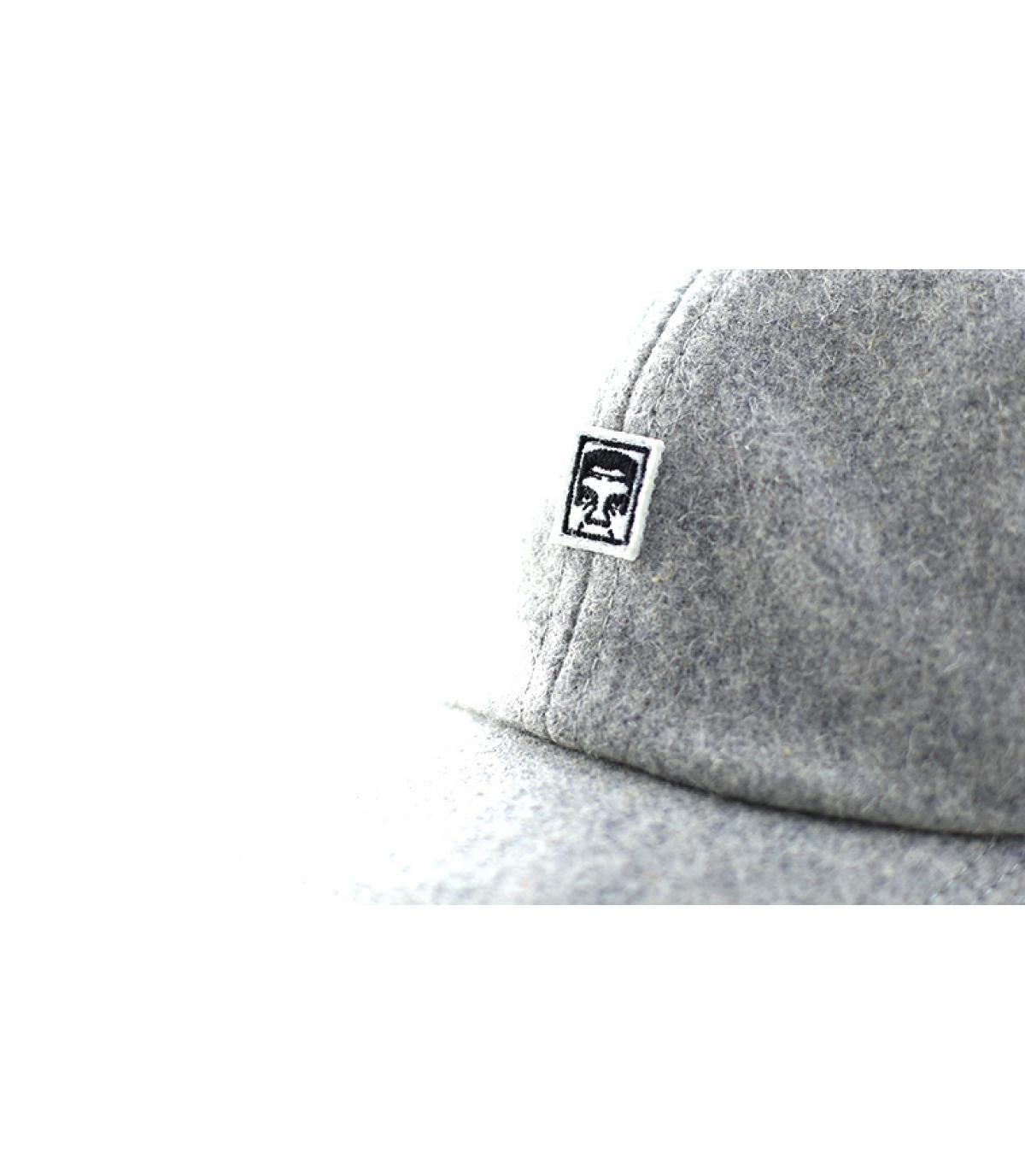Dettagli Eighty Nine 6 Panel heather grey - image 3