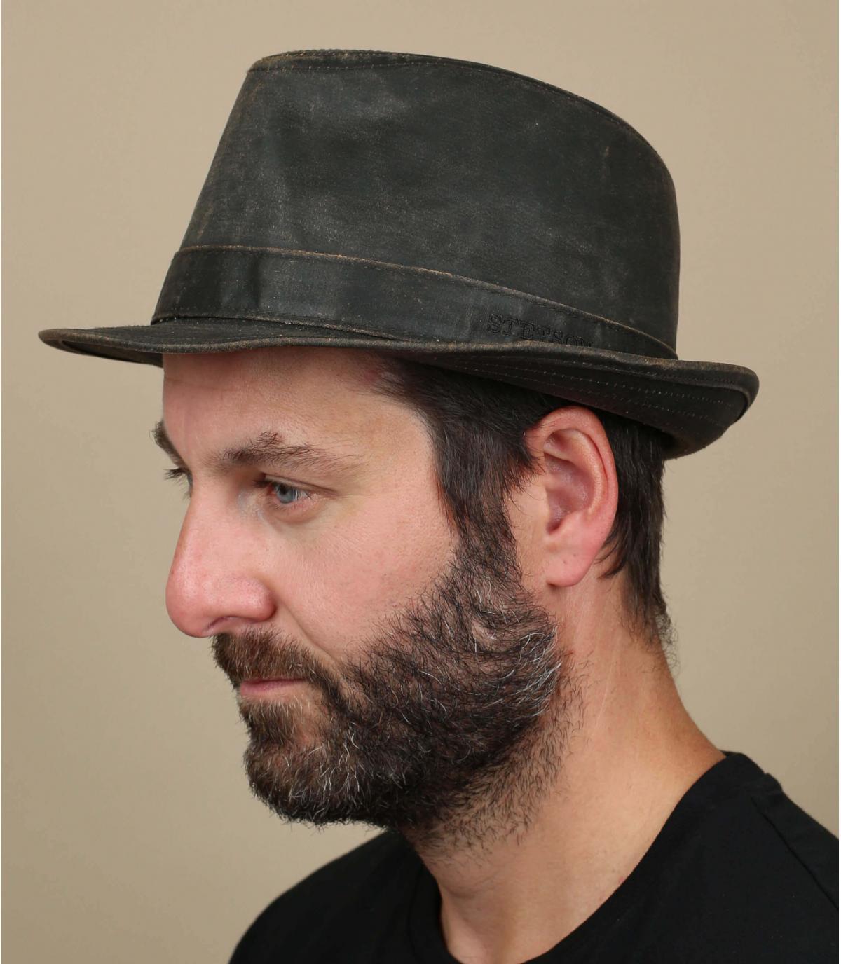 Cappello trilby vieilli
