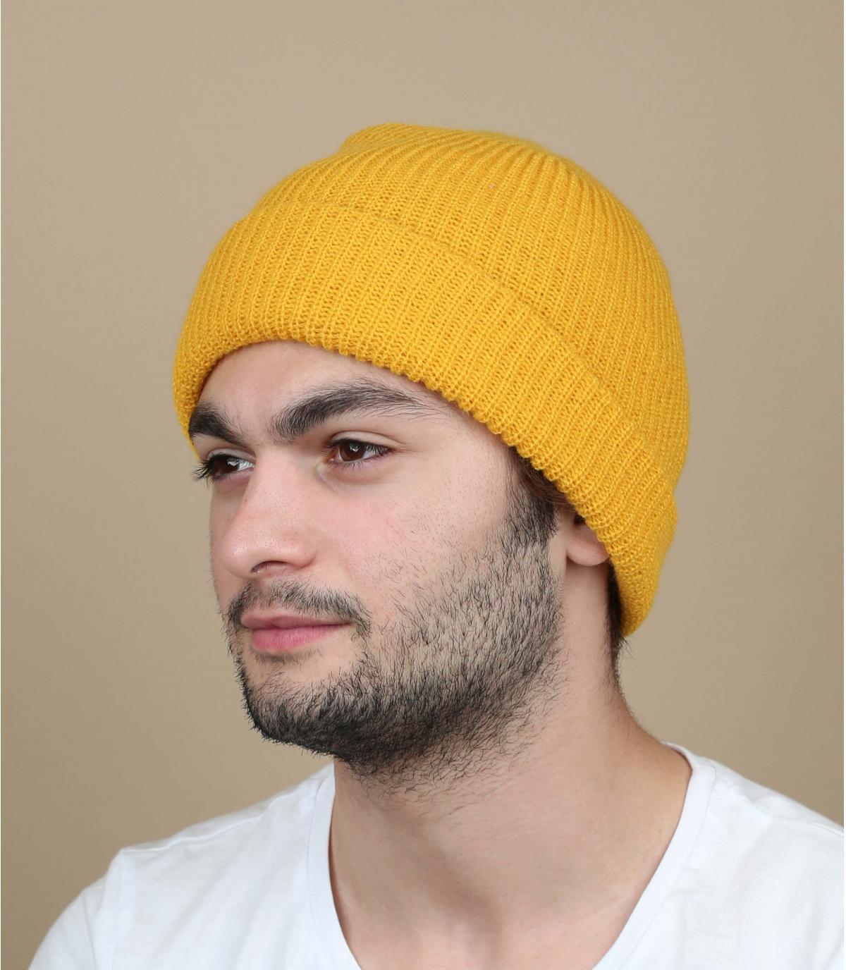 cappello bavero senape Brixton