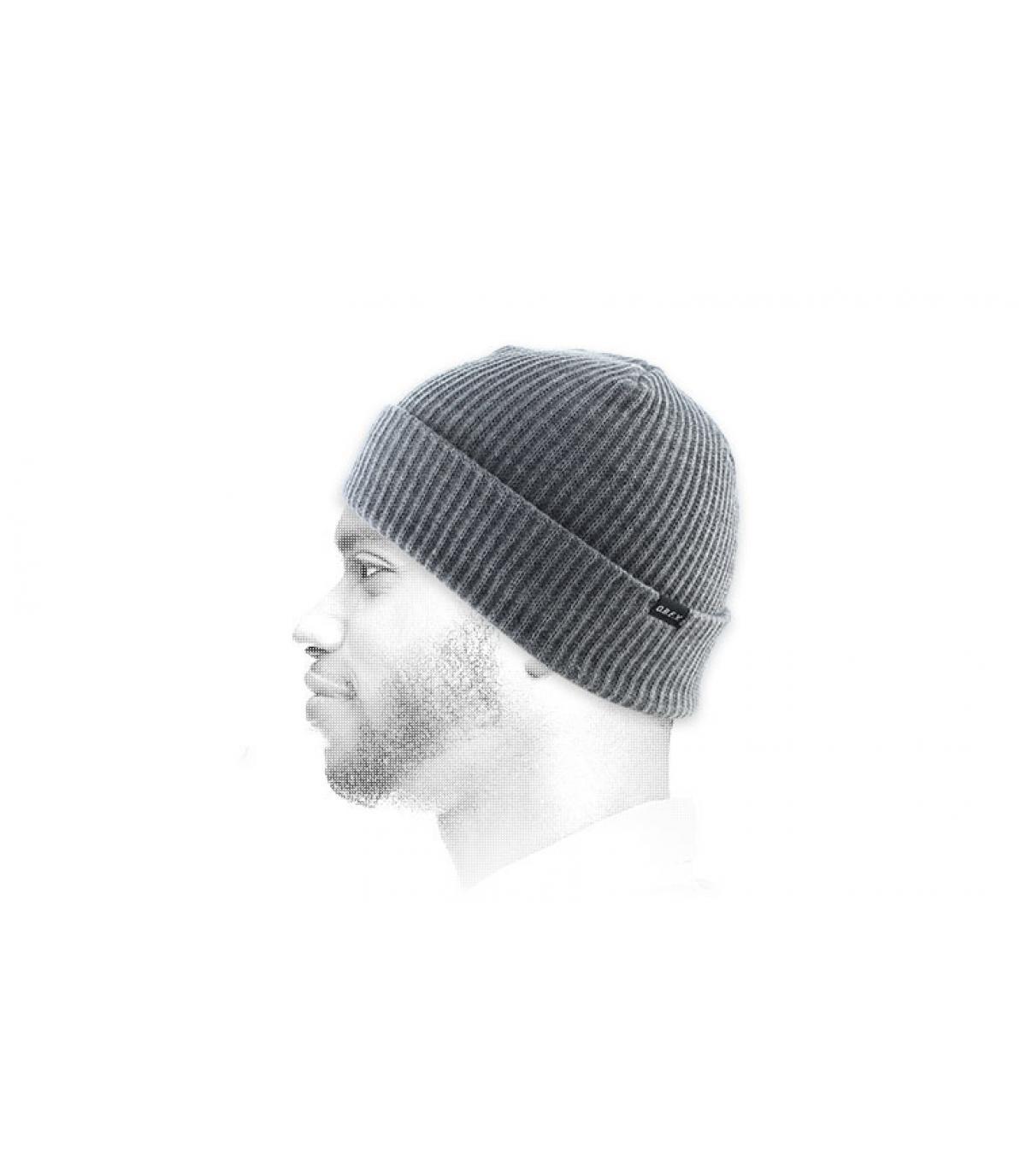 erica cappello grigio bavero Obey