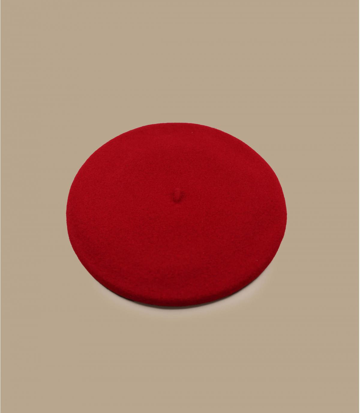 berretto rosso raddoppiato