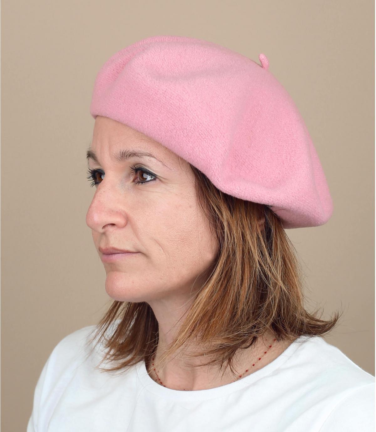 berretto rosa raddoppiato