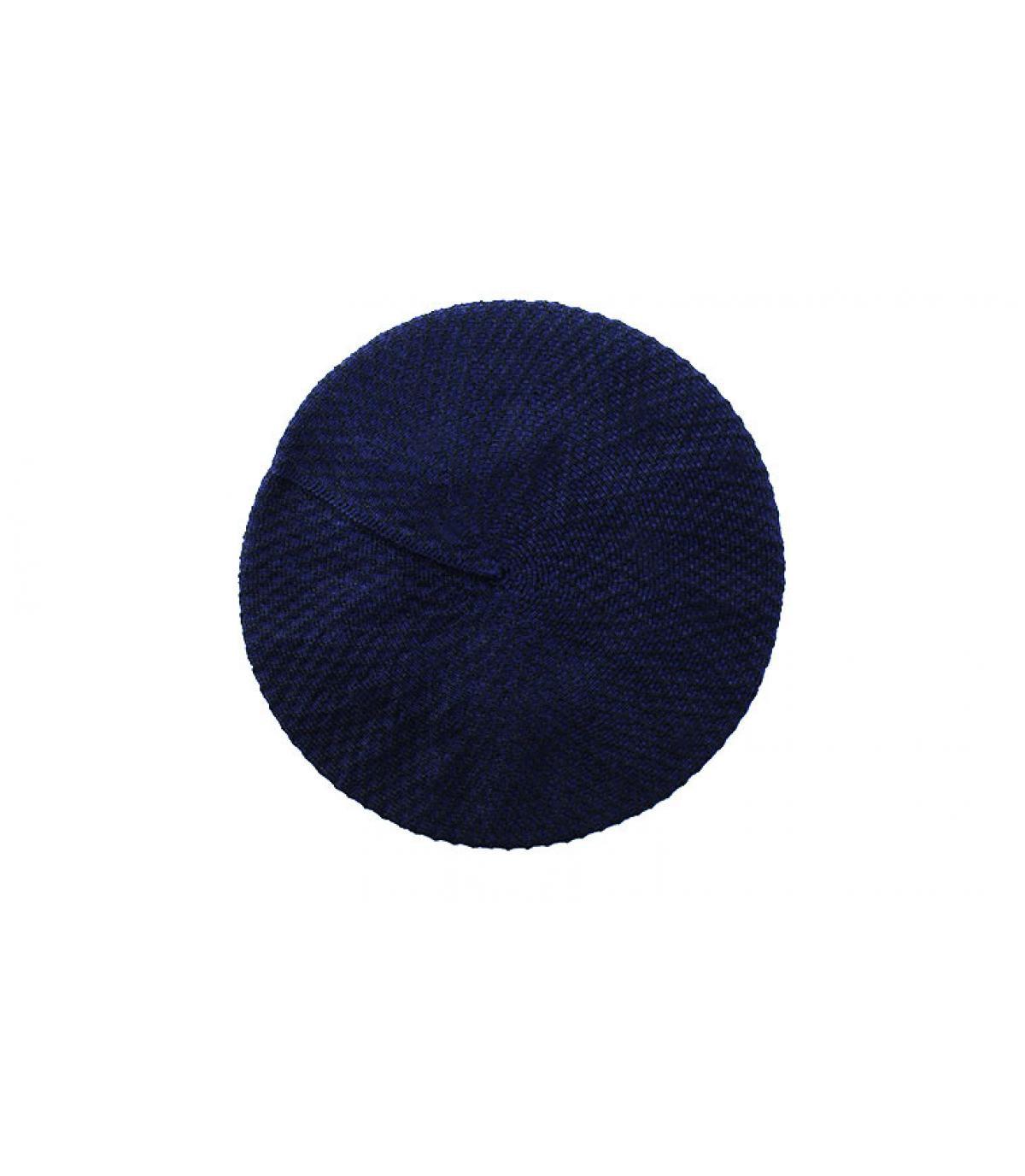 Dettagli Béret Cotton midnight - image 2