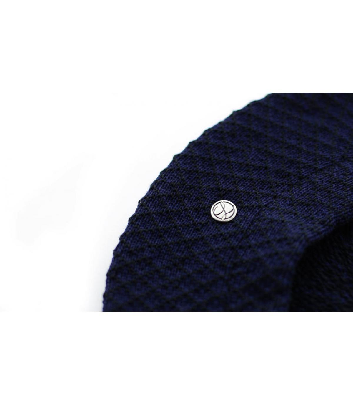 Dettagli Béret Cotton midnight - image 3