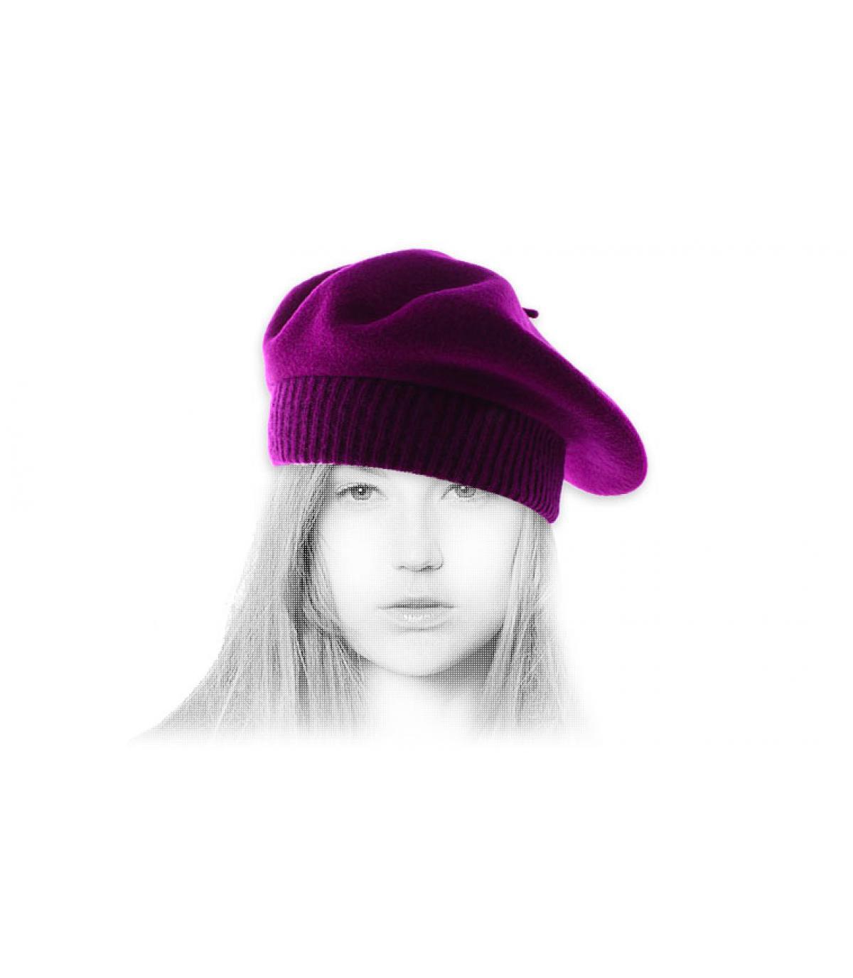 viola berretto Rib
