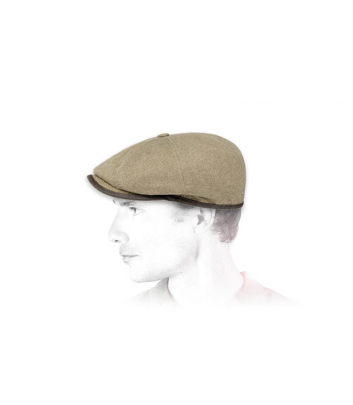 cappello beige Stetson