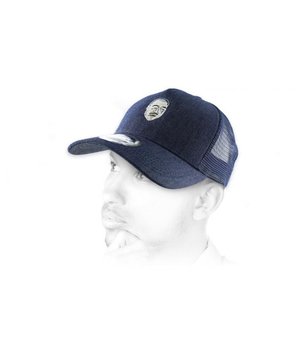 camionista Don Corleone blu