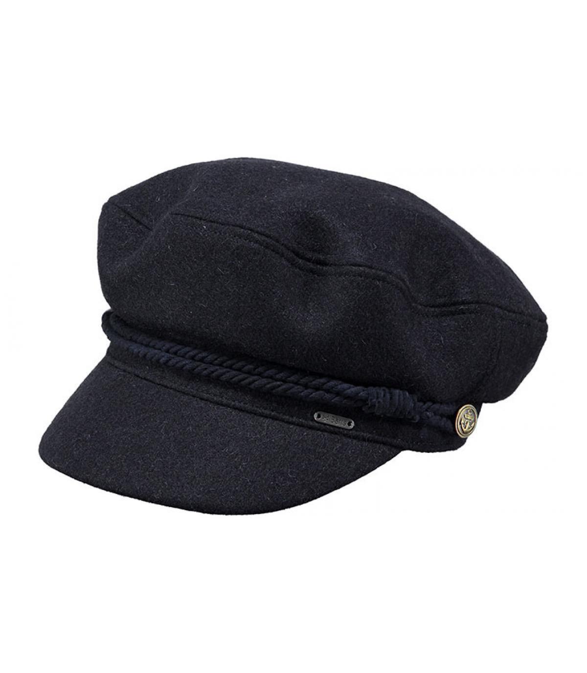 blu navy cap Barts