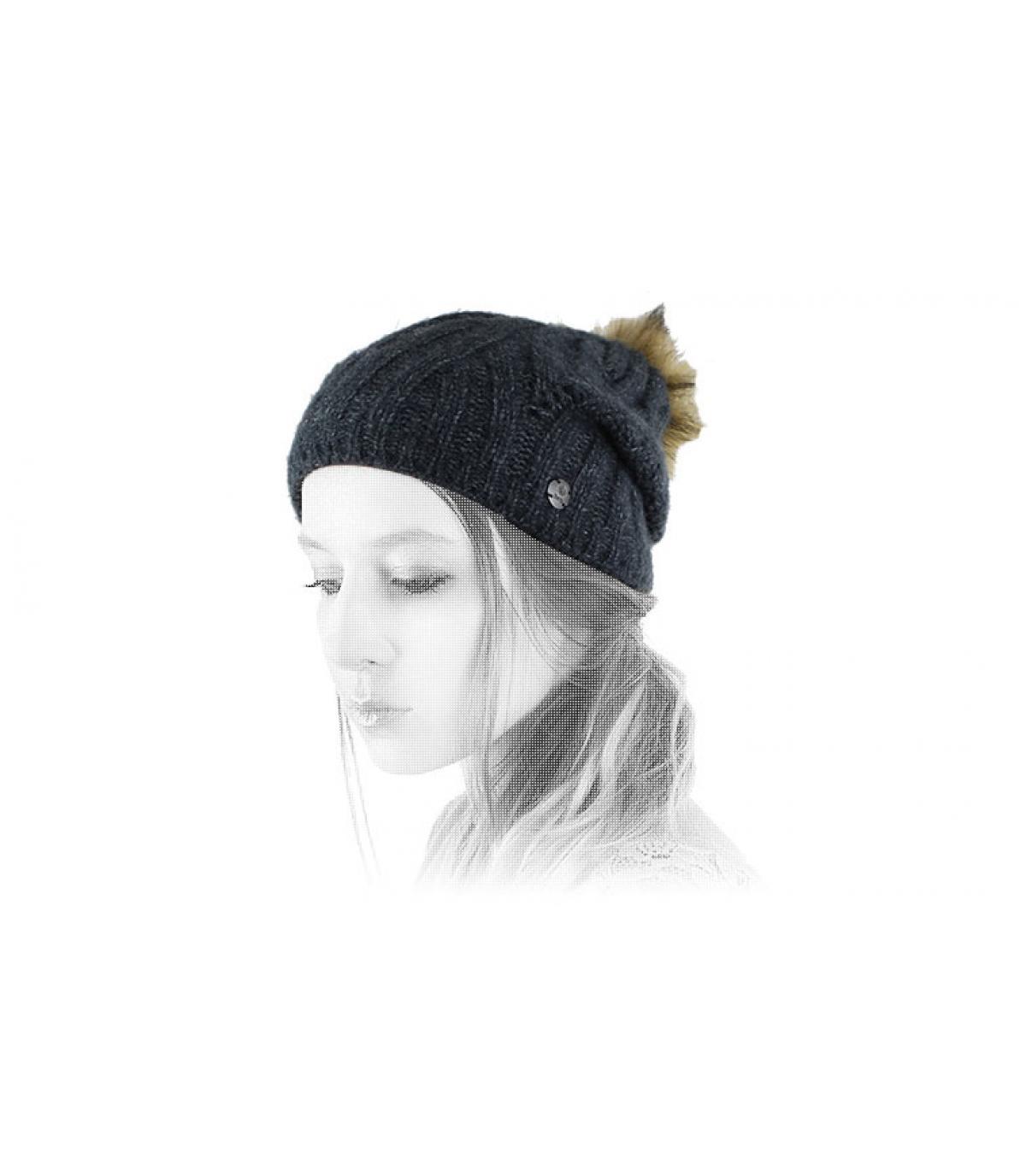 Dettagli Serenity Beanie dark heather - image 4