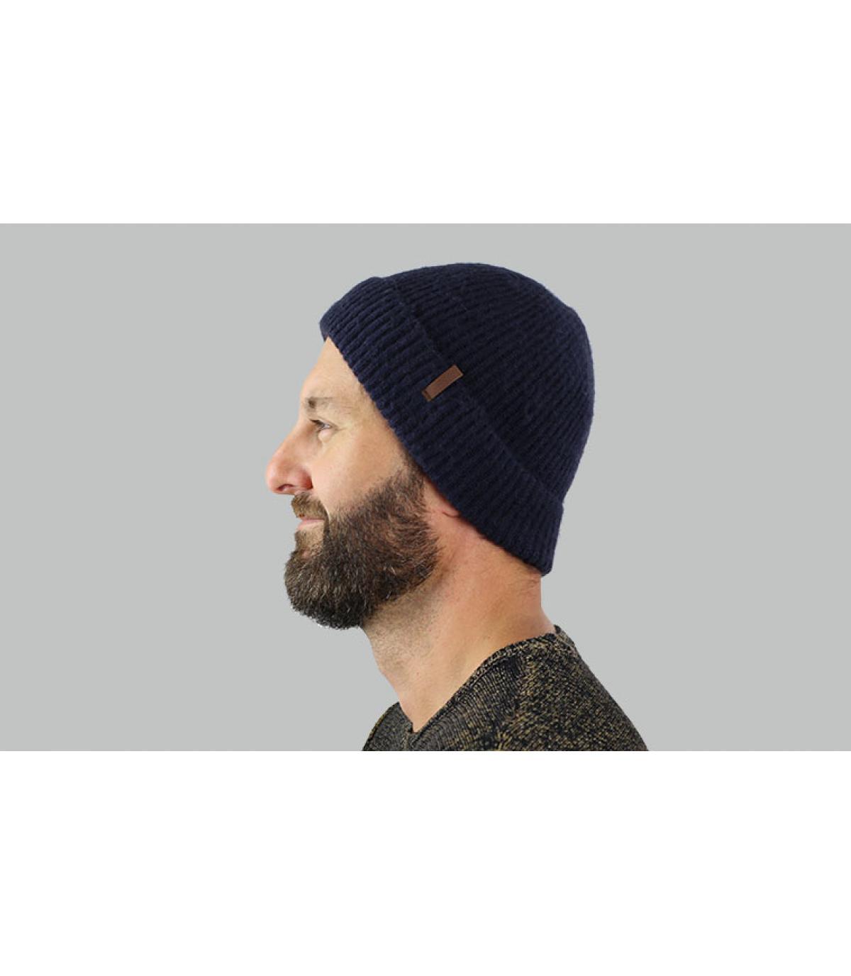cappello bavero costa blu