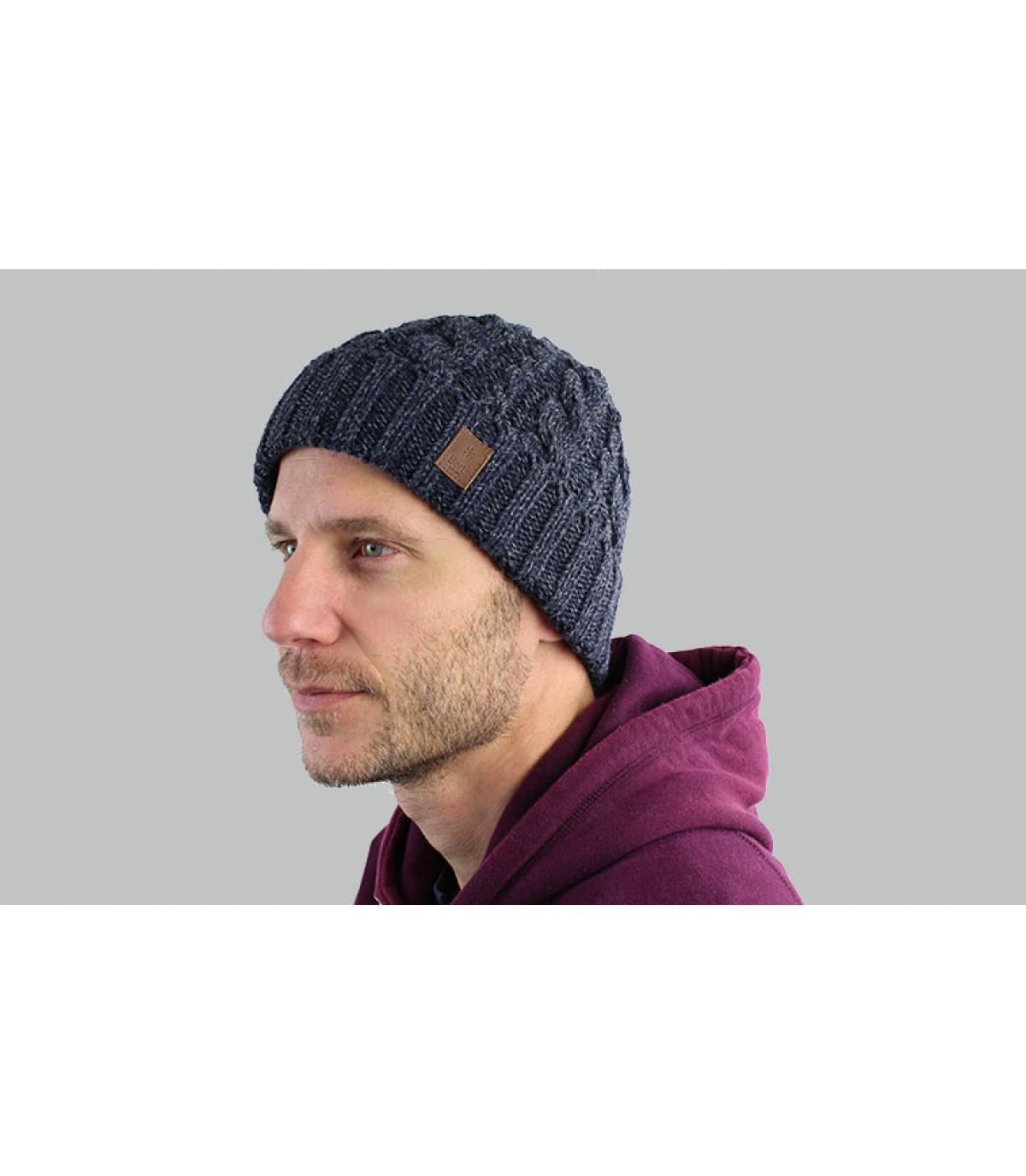 cappello bavero della marina torsione