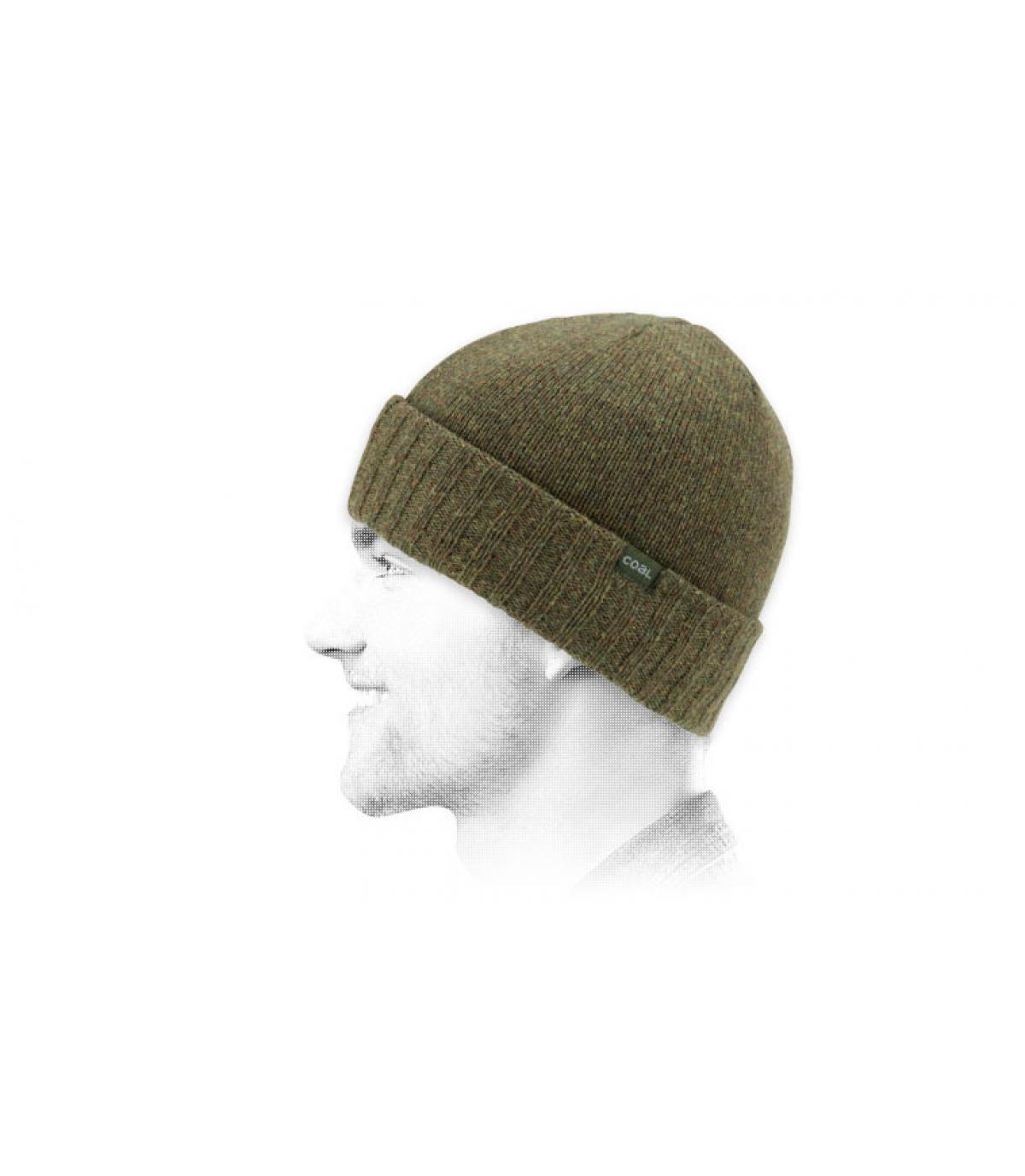 lana verde tappo carbone
