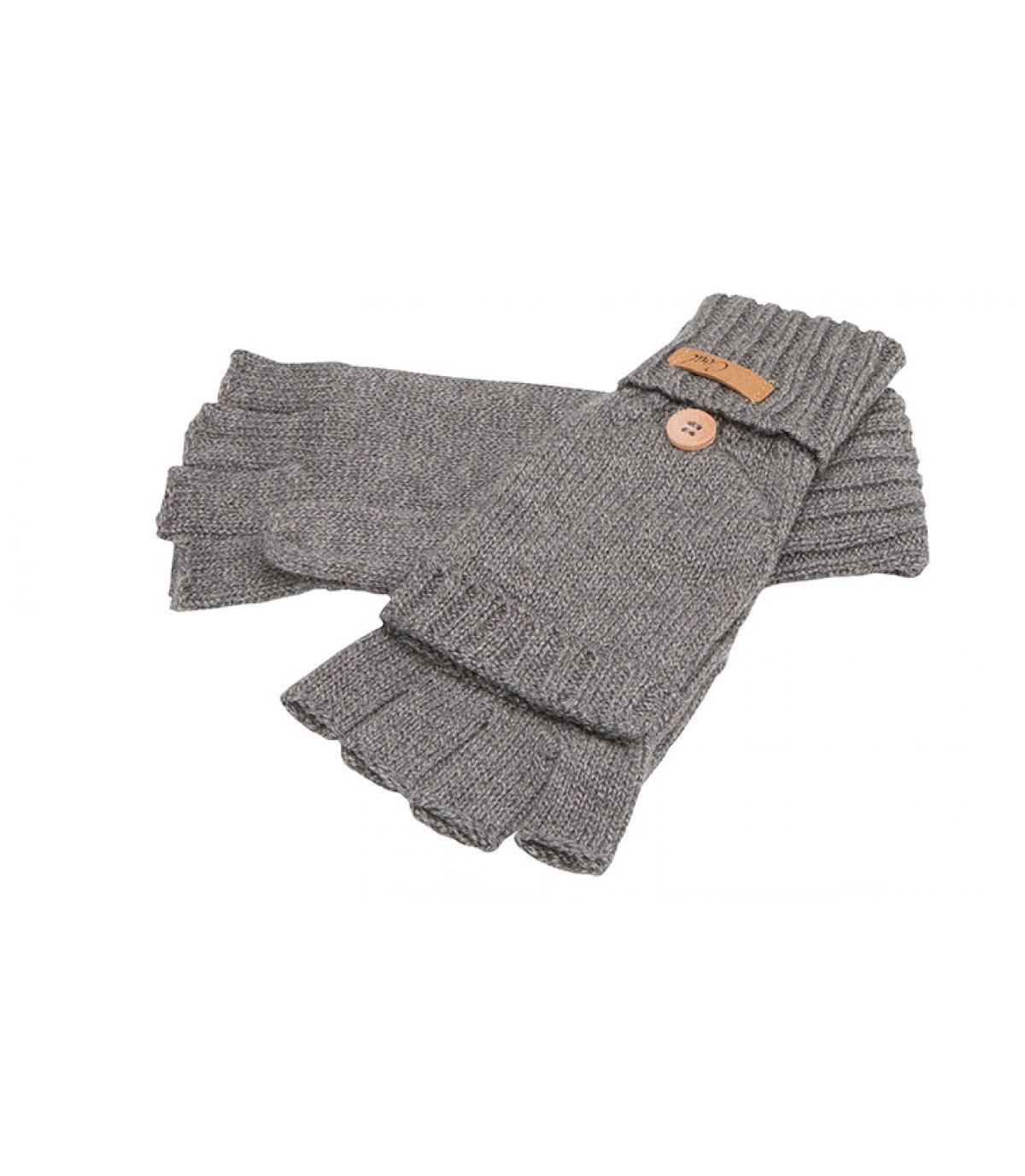 guanti grigi guanti