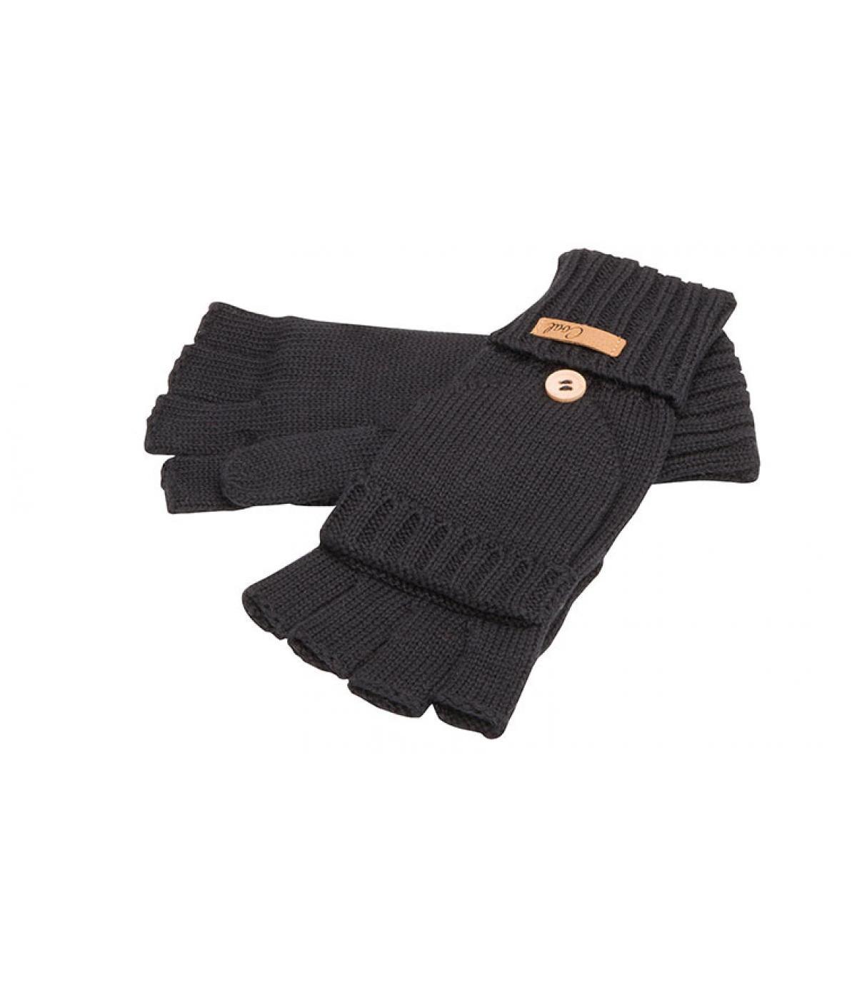 guanti neri guanti