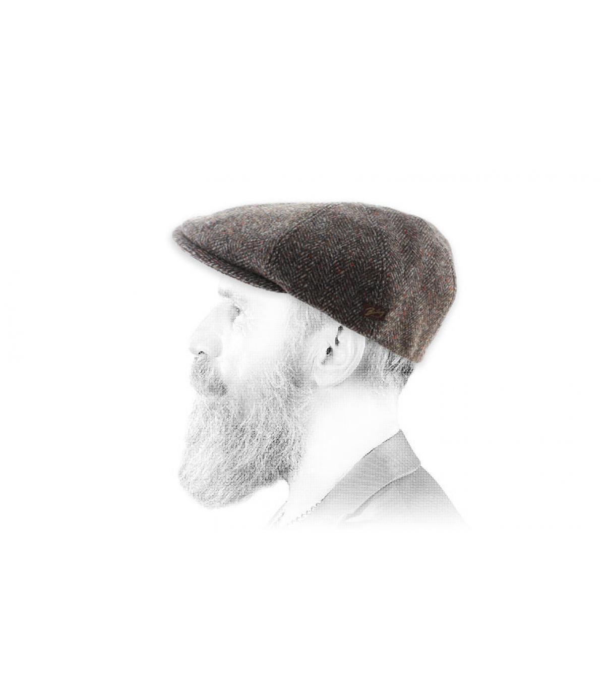 Bailey lana bordeaux berretto