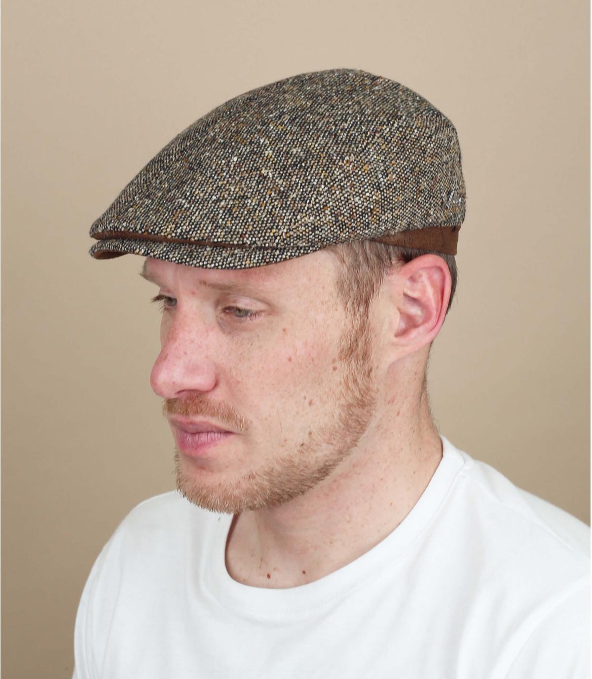 beige lana berretto Herman