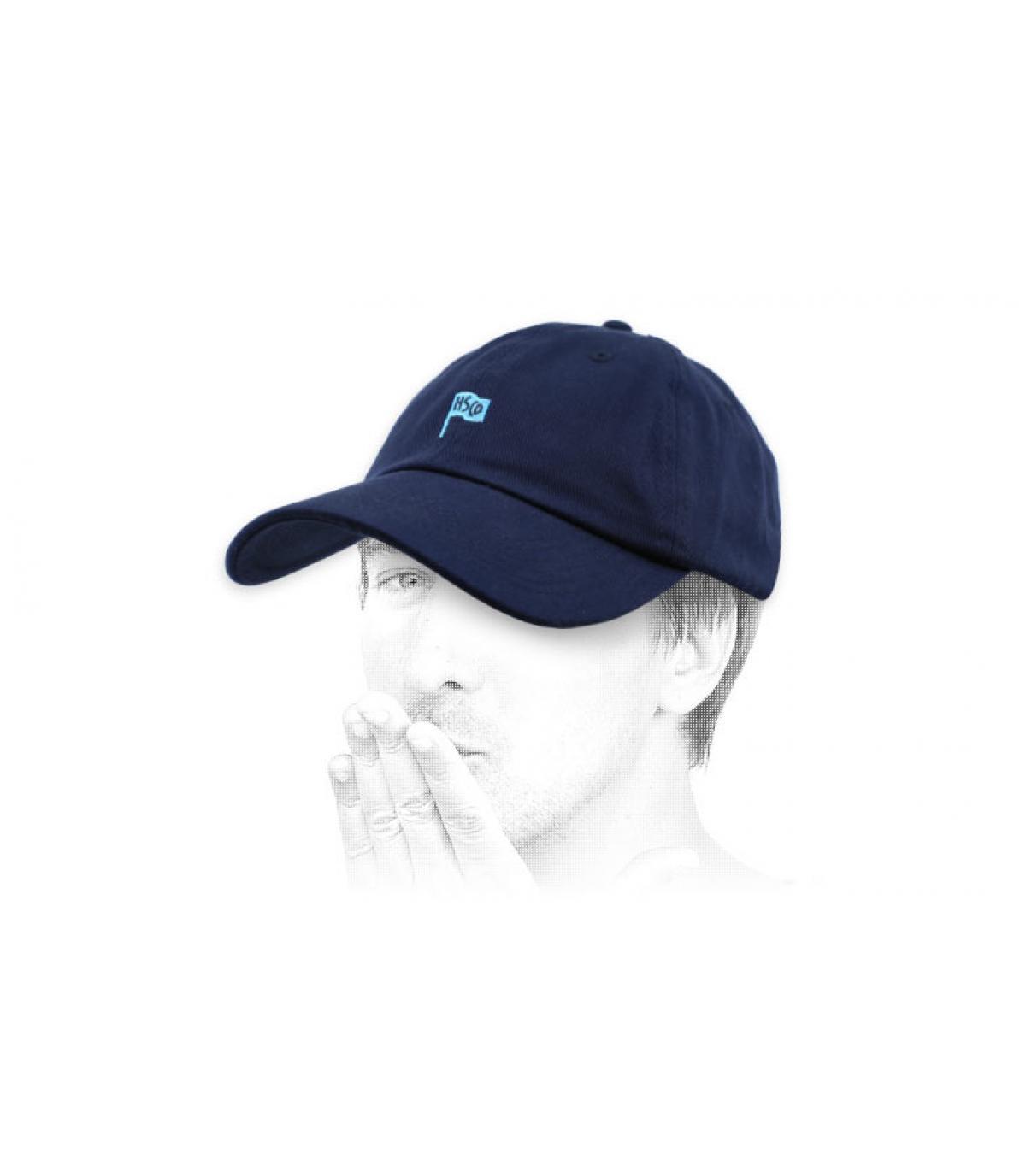 Capsula blu curva Herschel