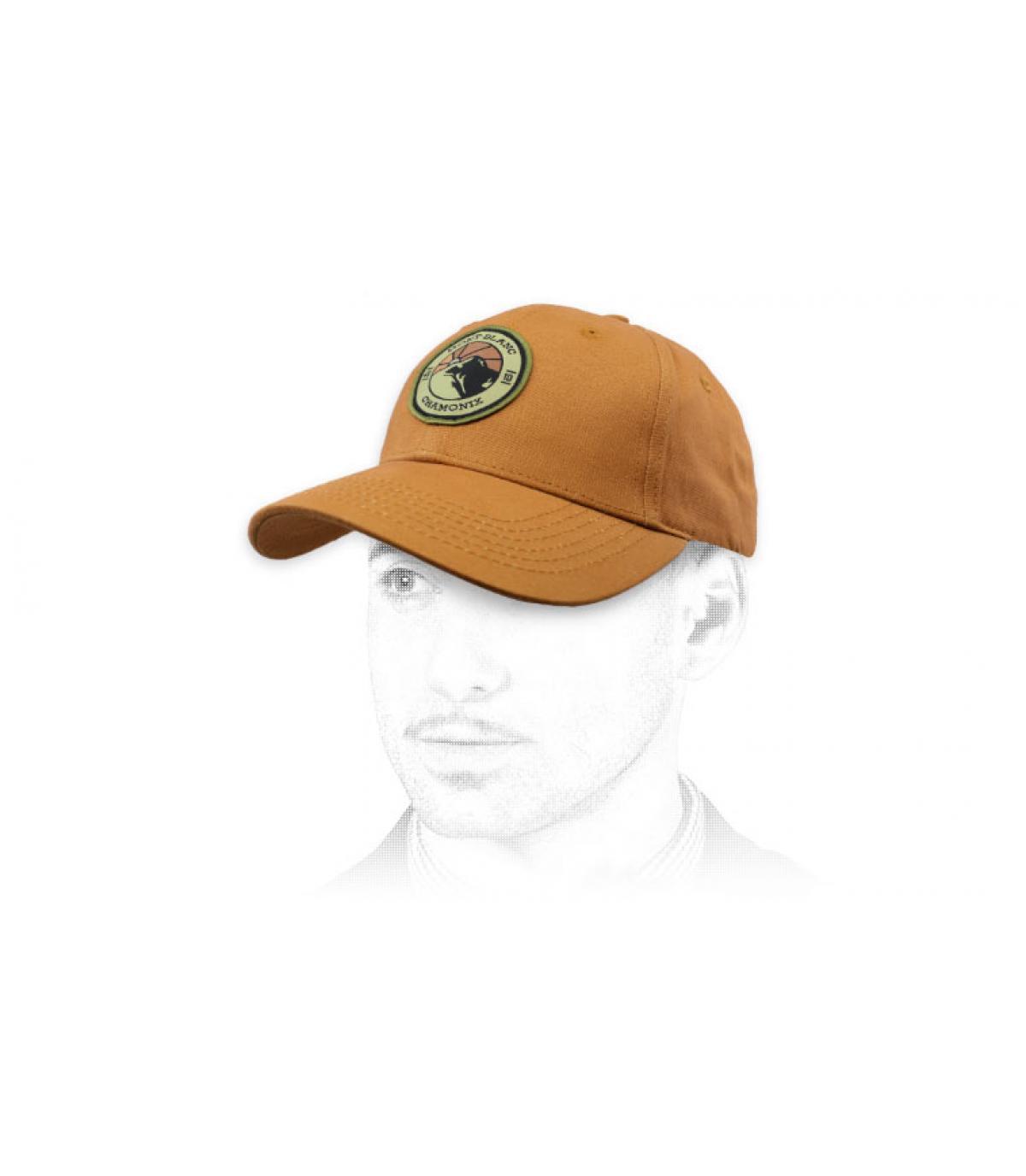 Cappellino beige del Monte Bianco