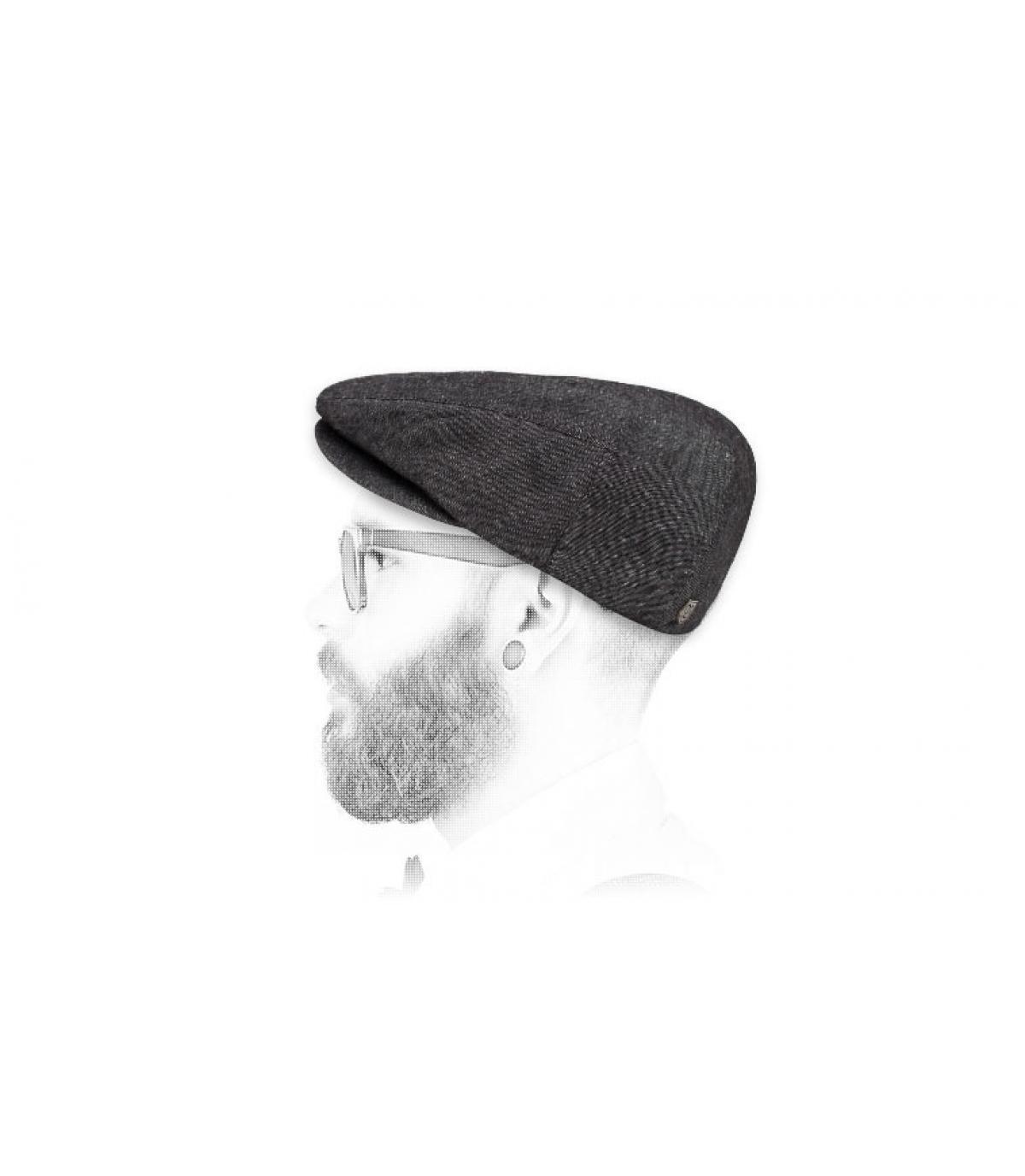 Berretto nero di berretto Brixton