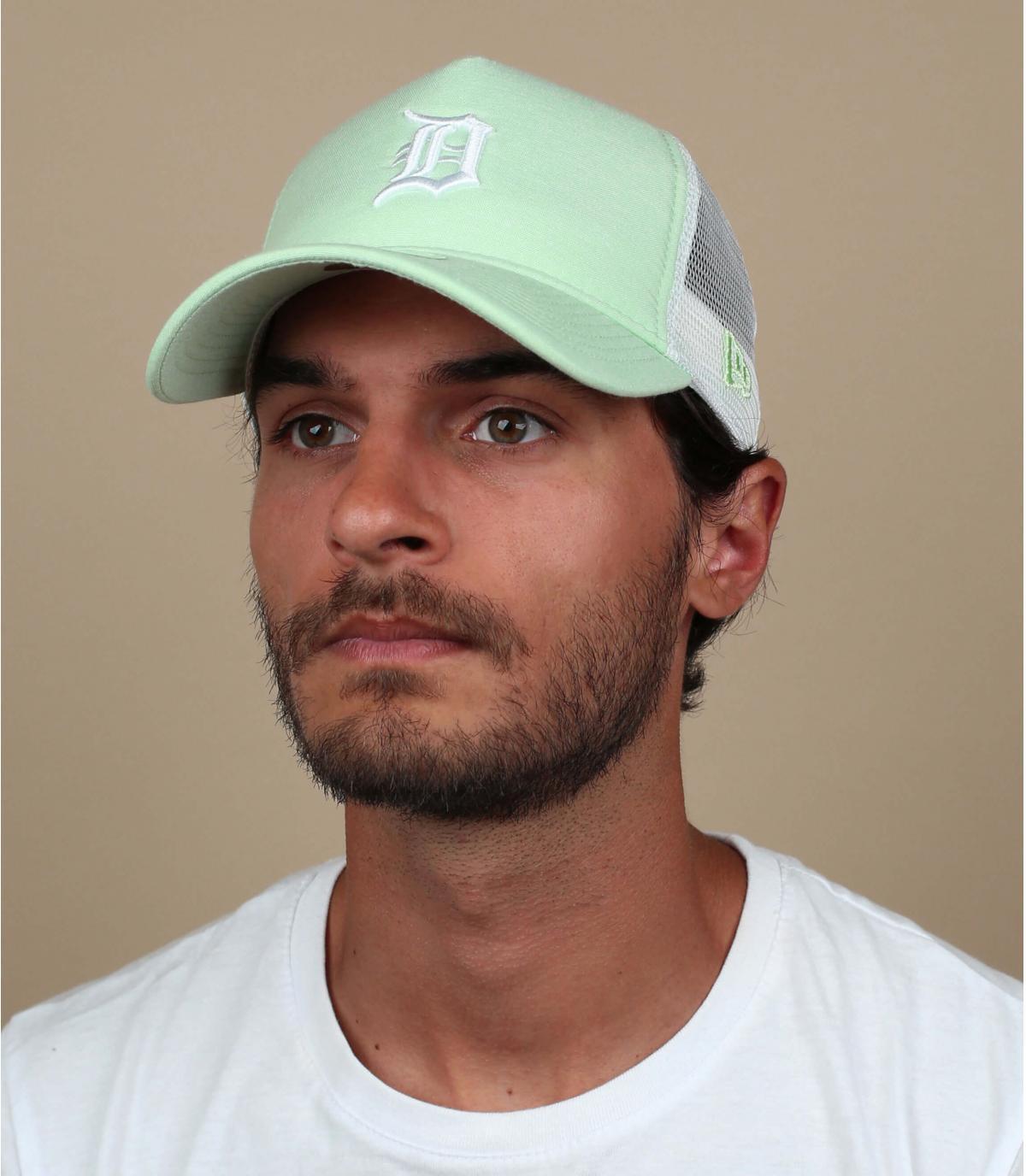 trucker D verde chiaro