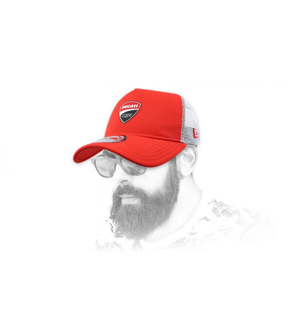 trucker Ducati rosso