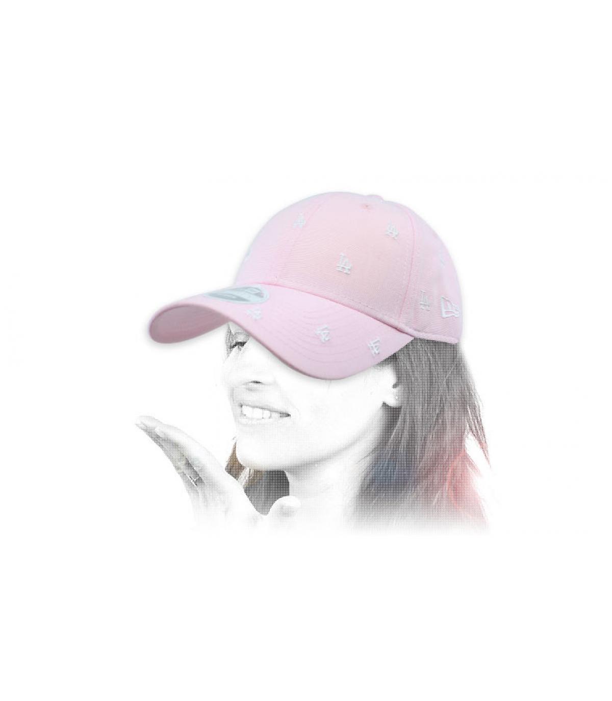 cappello donna la rosa monogramma