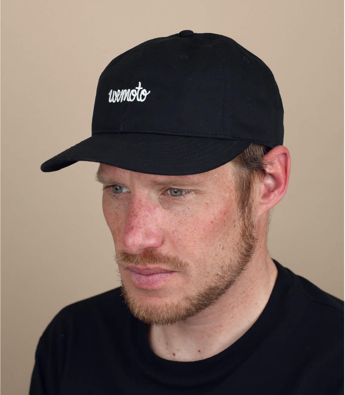 Cappellino Wemoto nero
