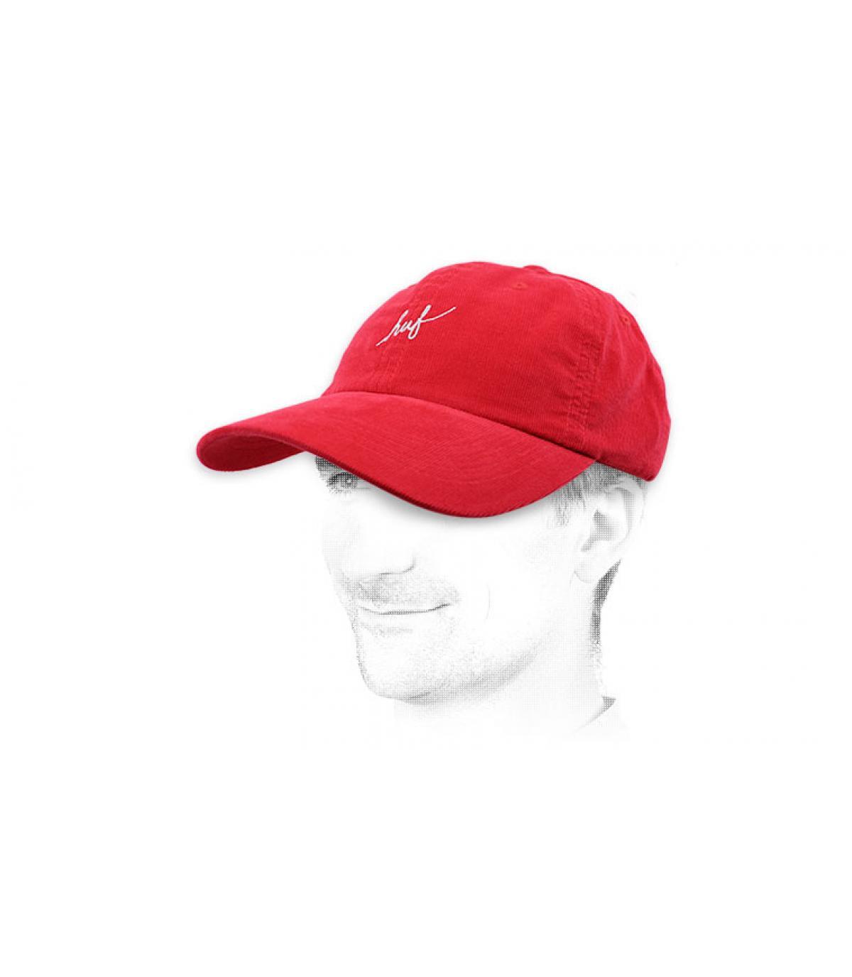 berretto rosso Huf