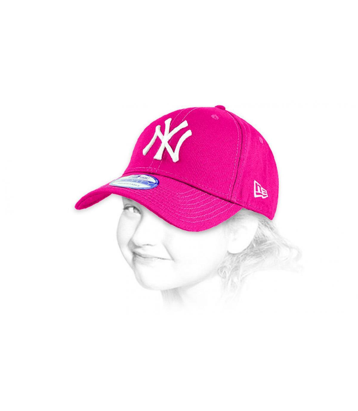 Dettagli Child trucker ny pink - image 2