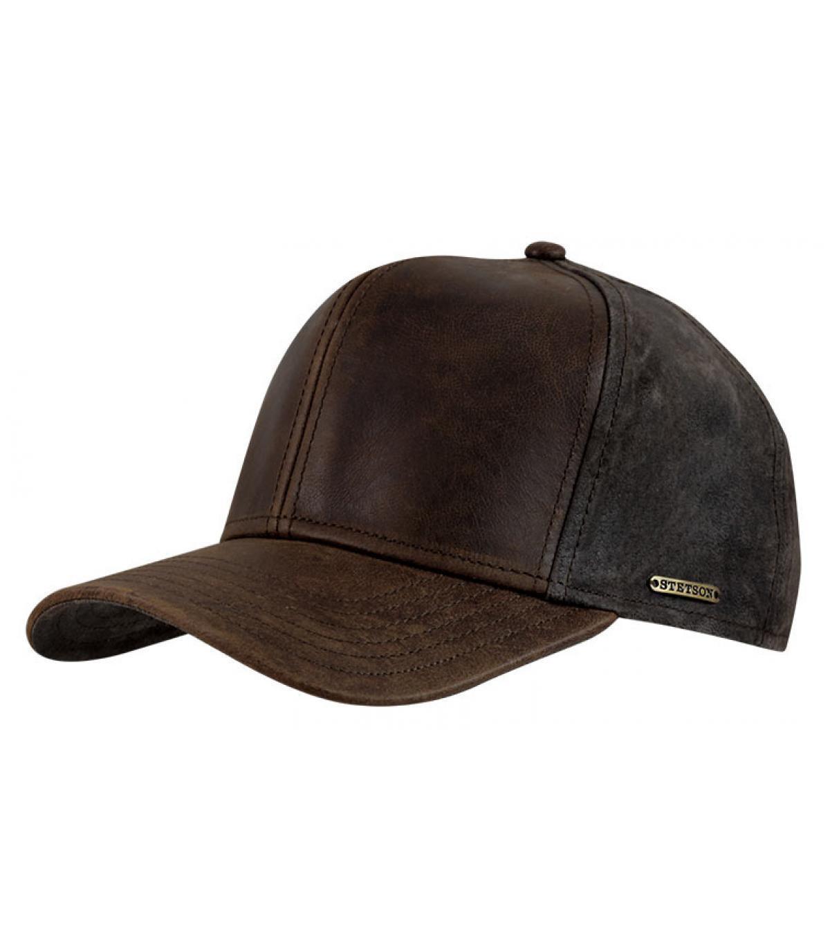 Cappellino campbell pelle